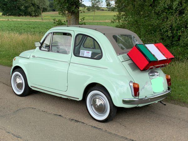 Italian Flag case Fiat 500