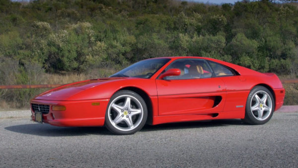 Ferrari 355 Fitted Luggage