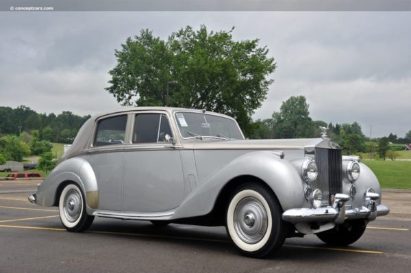 Rolls-Royce Silver Dawn Luggage