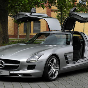 Mercedes SLS AMG Luggage