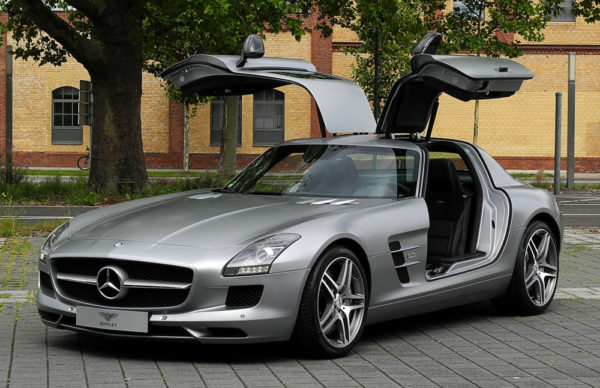 Mercedes SLS AMG Luggage
