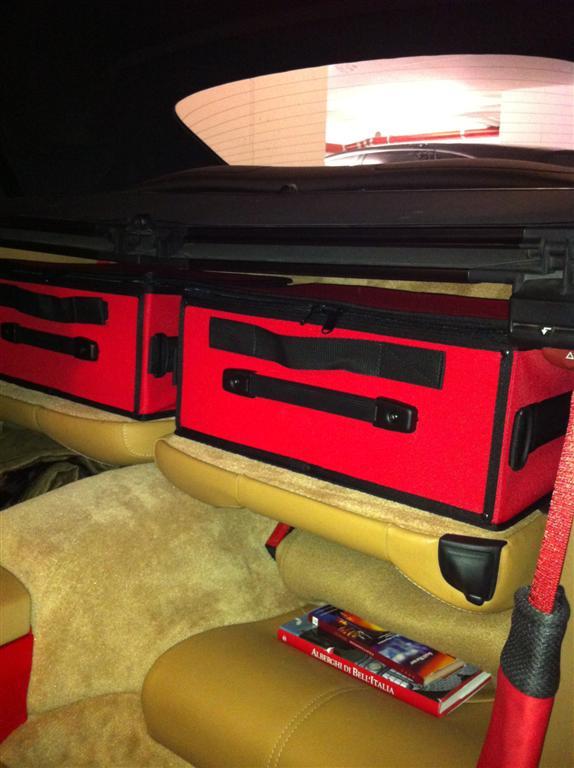 Porsche 997 Luggage