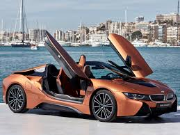 BMW i8 Roadster Luggage