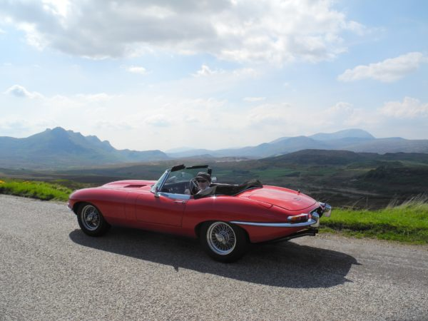 Jaguar E-type OTS Fitted Luggage