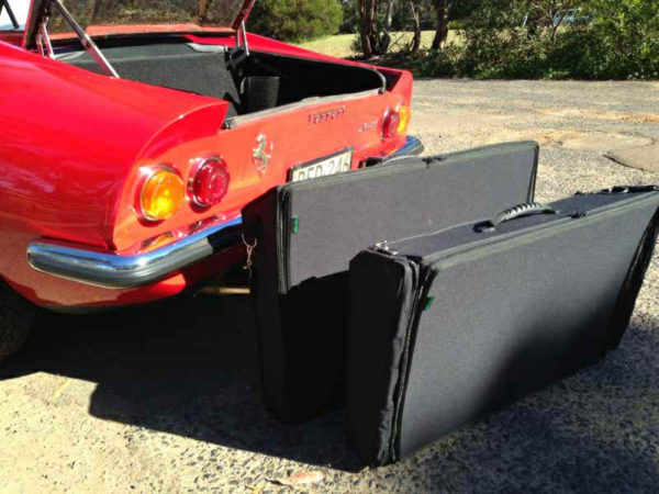 Ferrari Dino Luggage