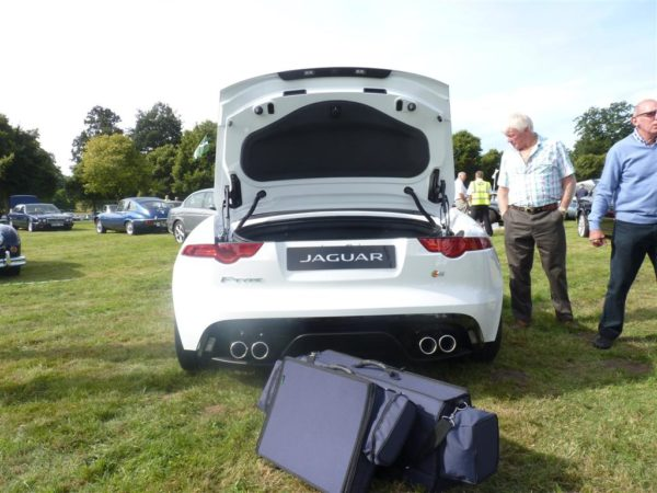 Jaguar F-type Luggage