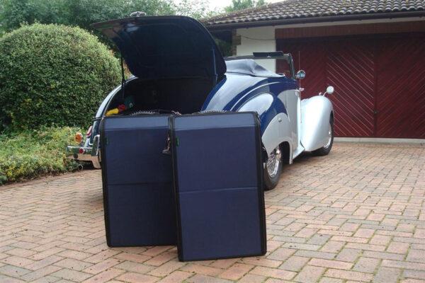 Alvis TC100 luggage