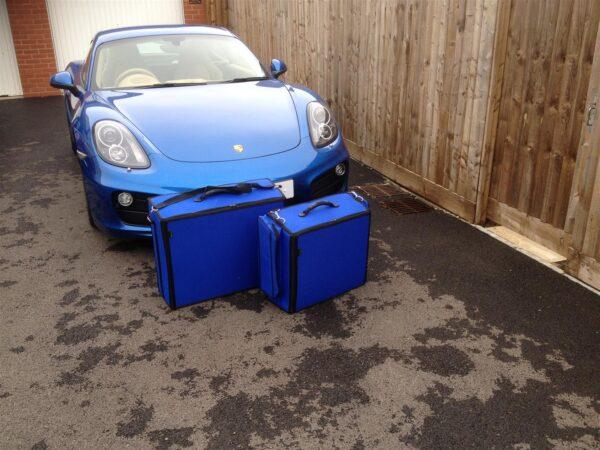 Porsche 991 Luggage