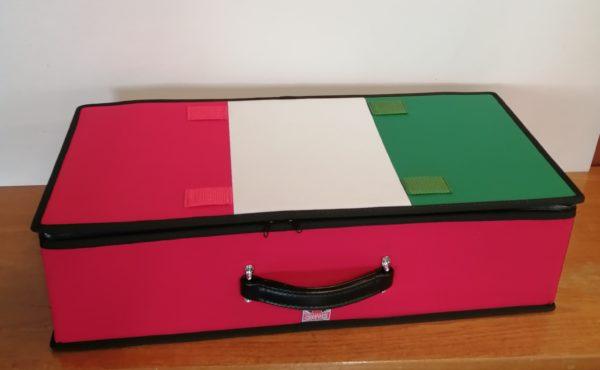 Italian Flag suitcase