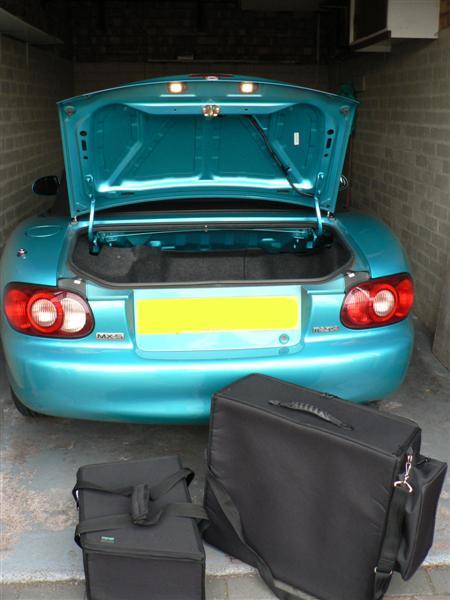 Mazda MX-5 Mk2 Luggage
