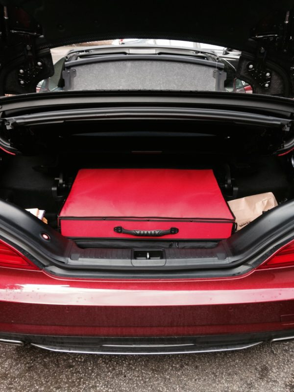 Mercedes R231 Luggage