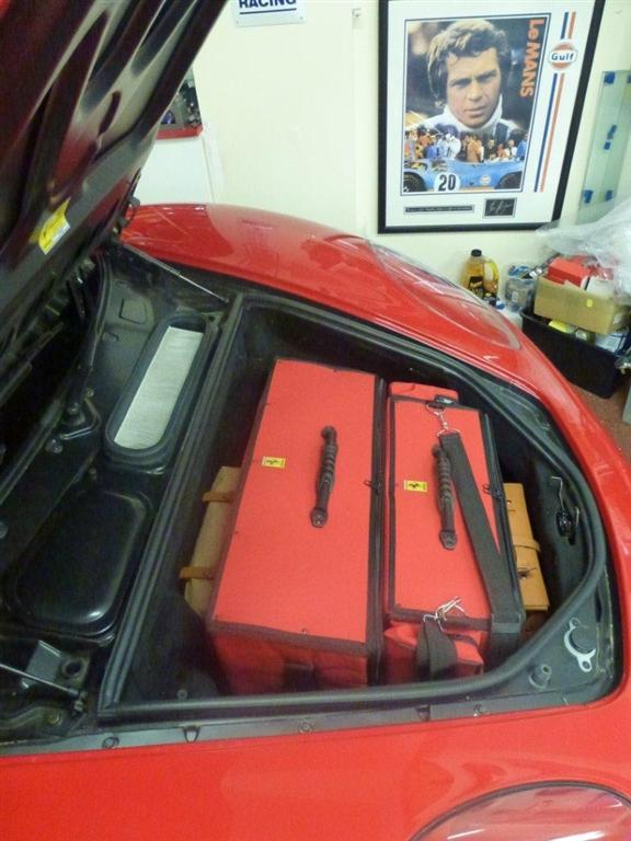 Ferrari F430 Luggage