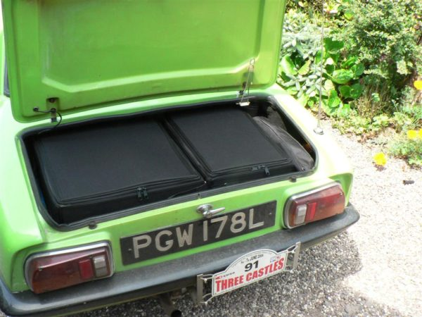 Lotus Elan Luggage