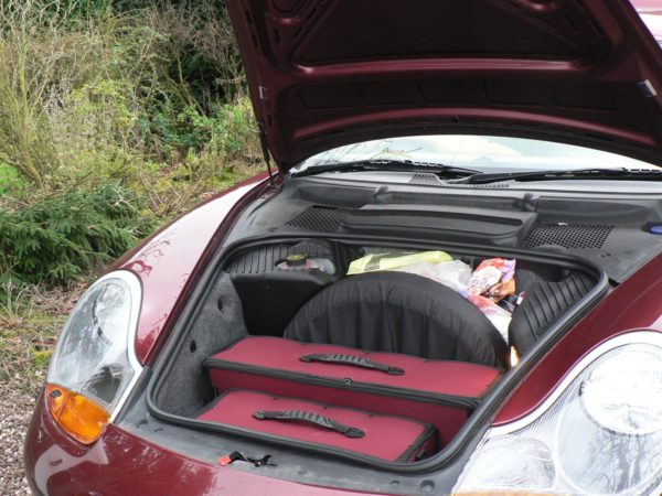 Porsche Boxter Luggage