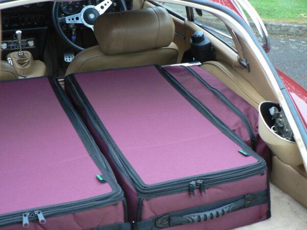 E-type coupe luggage