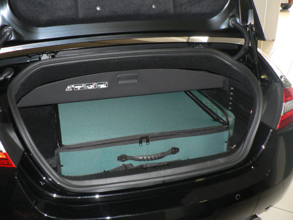Jaguar XK Luggage