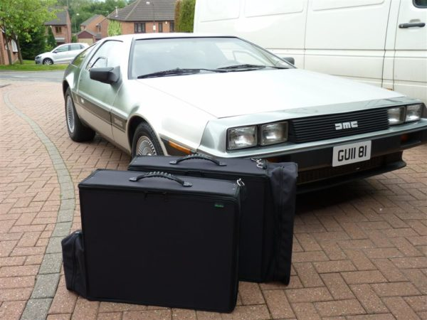 DeLorean Luggage