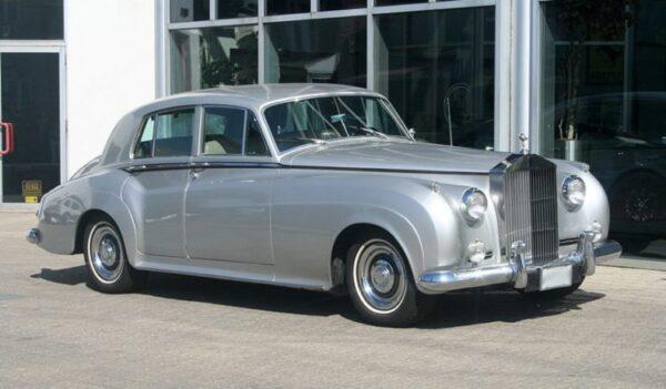 Rolls-Royce Silver Cloud Luggage