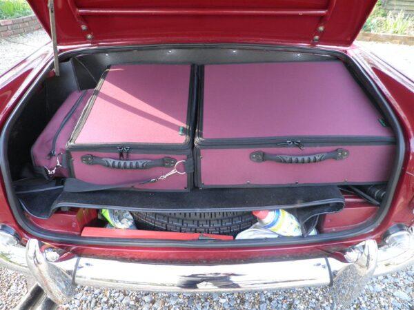 Triumph TR5 Luggage