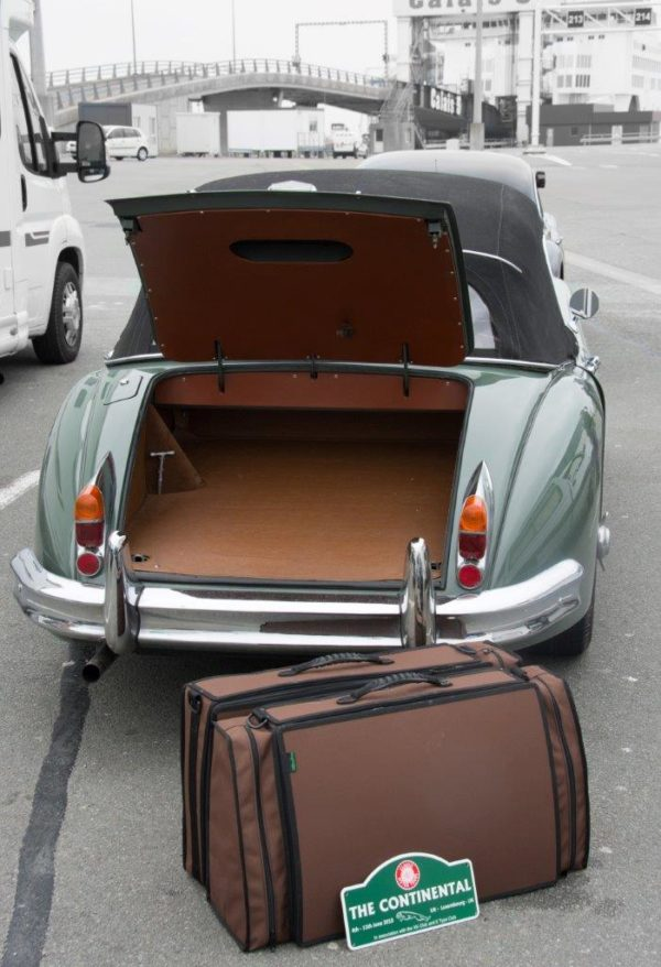 Jaguar XK140 Luggage