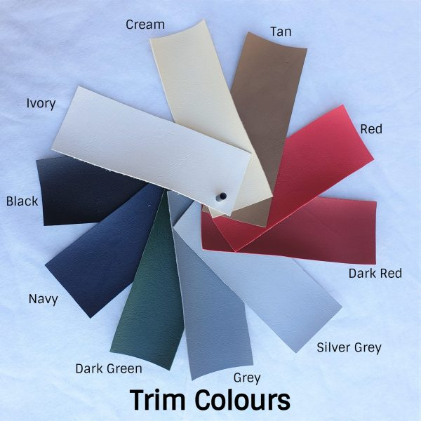 Classic Travelling Luggage Trim Colours