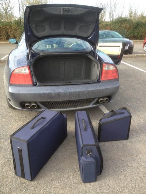 Maserati 4200 GT Luggage